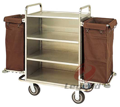 Hotel Laundry Trolley Service Cart For Sale (2).jpg