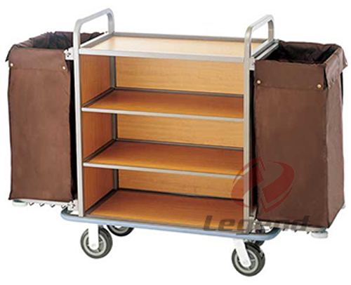 China supplier Hotel maid trolley for Europe.jpg