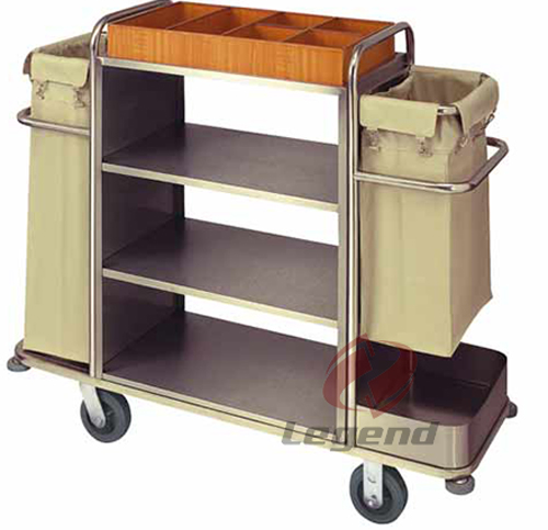 CE approved Stainless Steel hotel linen trolley.jpg