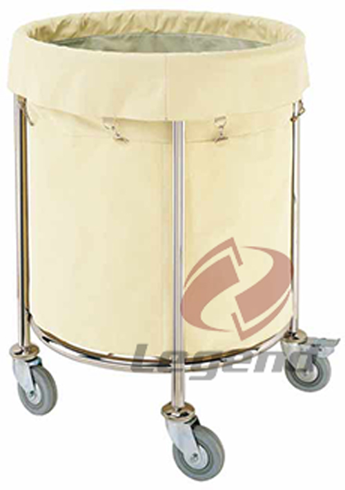 Hotel maid trolley commercial linen cart maid carts (2).jpg