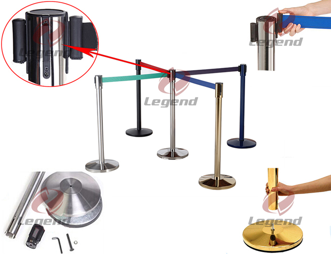 High quality cheap safety retractable barrier post (4).jpg