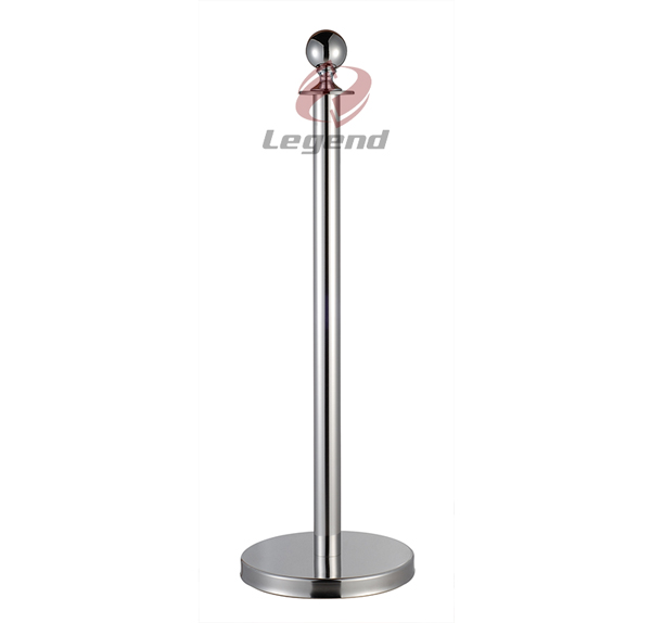 Top Chrome braid Rope post,event Stanchions,rope pole barrier.jpg