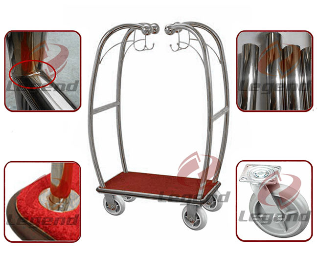 New design more competitive hotel luggage cart.jpg