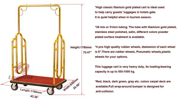Wholesale all types of trolley for hotel.jpg