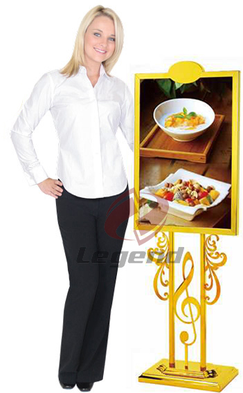 Hot sale popular lobby sign stand for hotel.jpg
