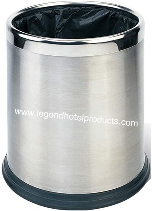 Convenient for use double layers Stainless Steel Rubbish Bin (2).jpg