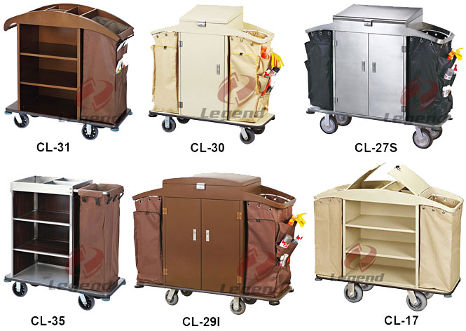 Heavy Duty hotel housekeeping trolley.jpg