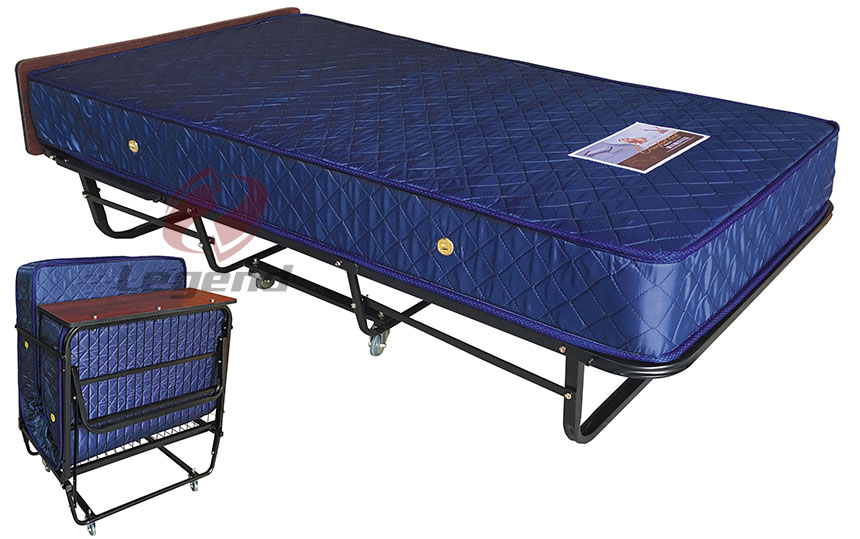 China wholesale metal frame Hotel Extra bed folding.jpg