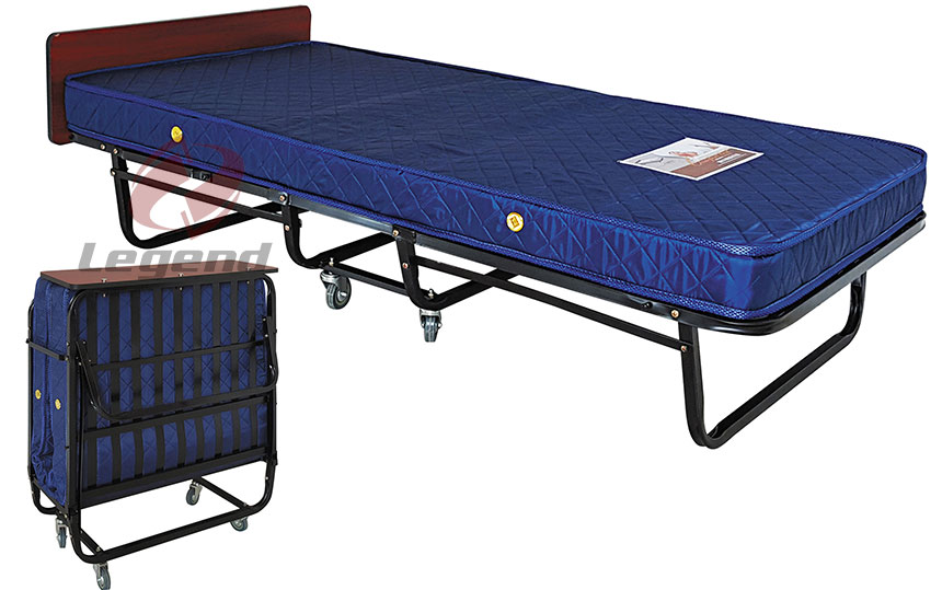 Modern design folding metal bed for sale.jpg