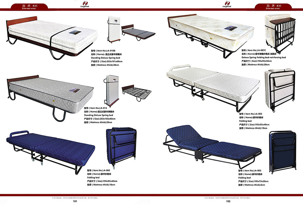 Adjustable Folding Extra Single Spring Bed for Hotel (2).jpg