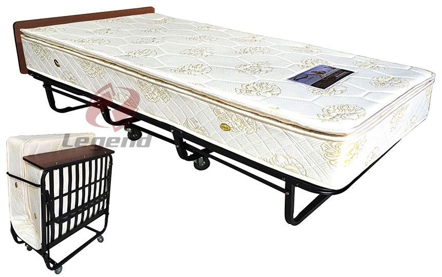 Luxurious folding Hotel extra bed with mattress.jpg