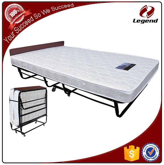 Adjustable Folding Extra Single Spring Bed for Hotel