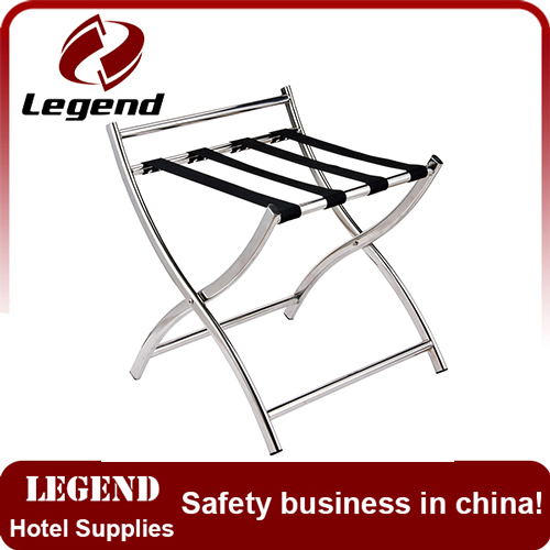 Antique Folding Suitcase luggage stands for hotel