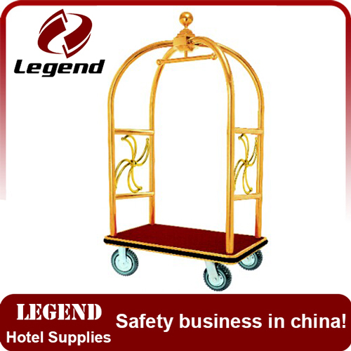 Best sale hotel moving cart Bellman Luggage trolley