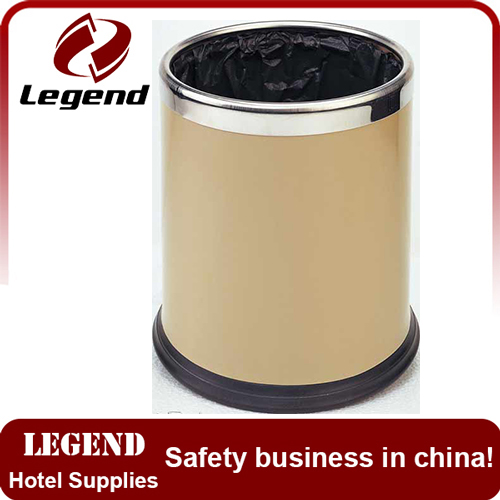 Convenient for use double layers Stainless Steel Rubbish Bin