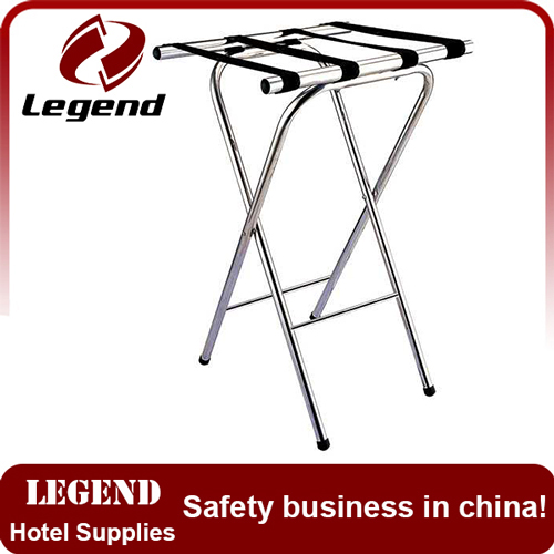 Customized heavy duty luggage stand for hotel