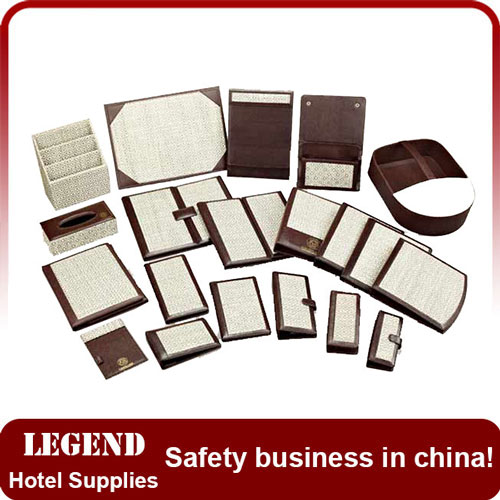 Customized leatherette hotel guest service directory