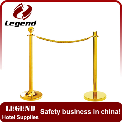 Elegant Rope Stanchion rope barrier