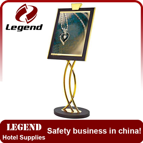 Factory wholesale steel restaurant display stand