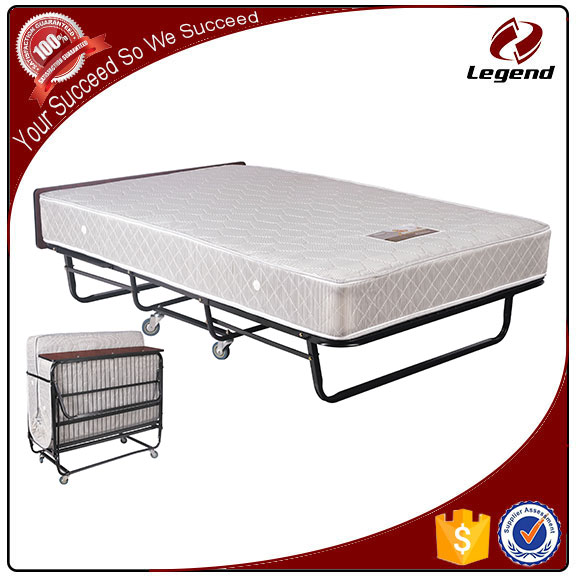 Famous simple design folding spring bed manufacturer