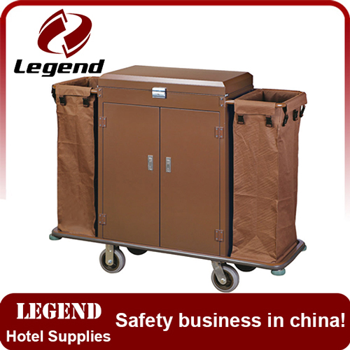 Heavy Duty hotel housekeeping trolley