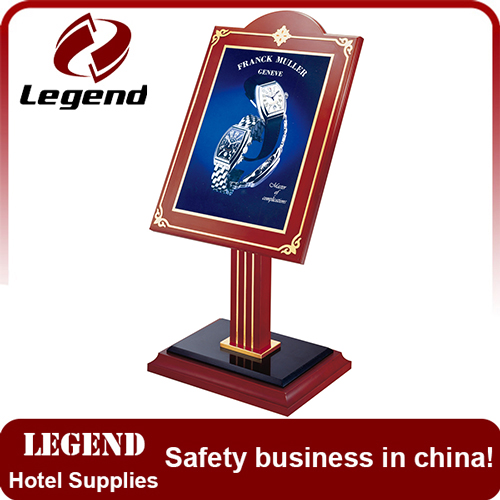High Performance Display sign holder for hotel