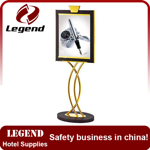 Hot sale popular lobby sign stand for hotel
