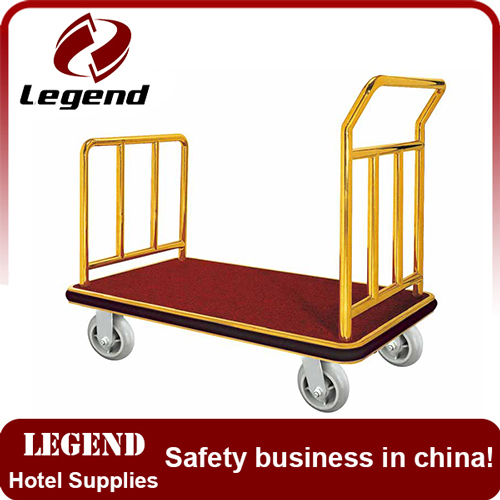 Hot selling Luggage heavy duty hand cart for hotel
