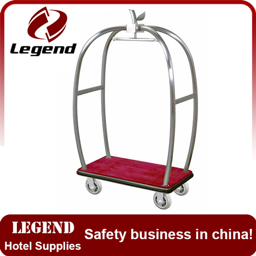 Hot selling hotel luggage trolley cart from China supplier
