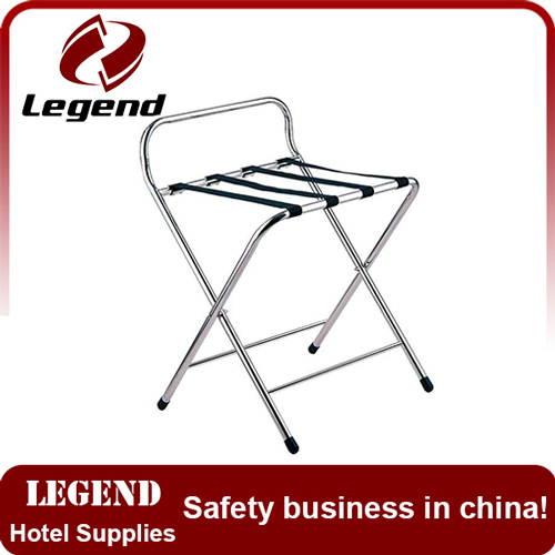 Hotel use folding luggage racks for bedroom