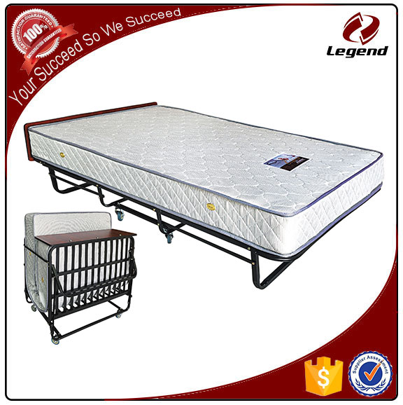 Luxurious folding Hotel extra bed with mattress