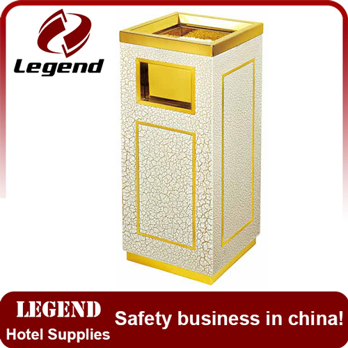 Luxury and high grade dustbin for hotel