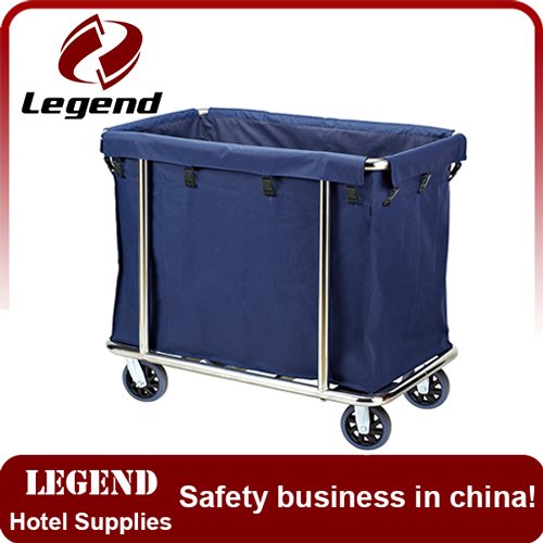 NEW!!! stainless steel laundry cart
