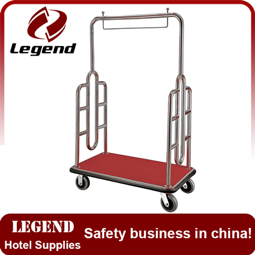 New design more competitive hotel luggage cart