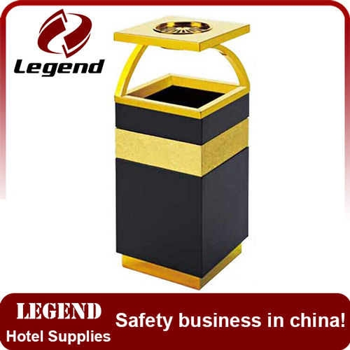 New items eco-friendly feature stainless rubbish bin
