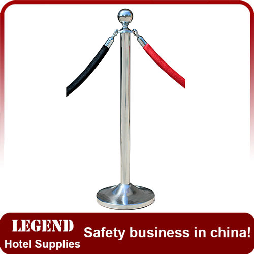 Polished Rope Barrier Stand,exhibition stand