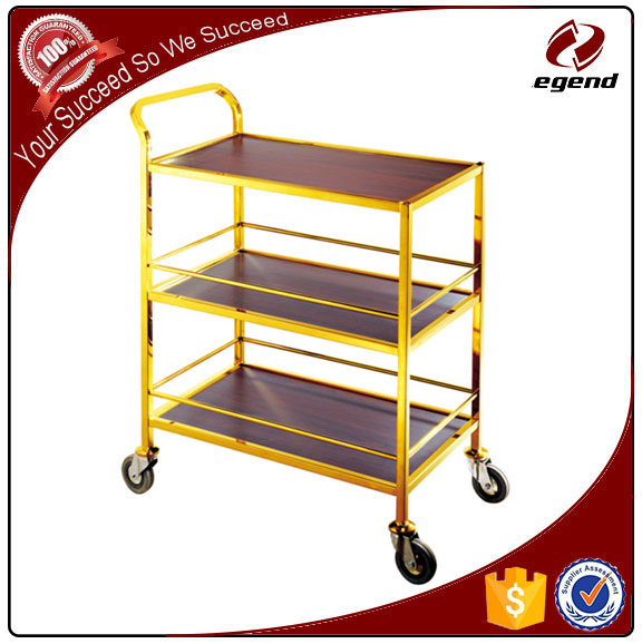 Restaurant equipment commerical Service Trolley Cart