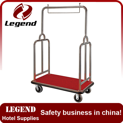 Safety and reliable hotel trolley supplier