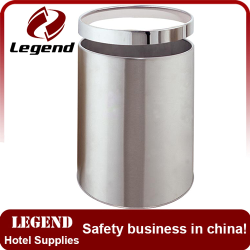 Small size waste bin trash can with ring for sale