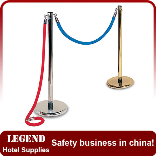 Stainless Steel Crowded Control Barrier Stanchion