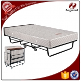 Bedroom furniture metal single bed foldable