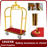 Crown head hotel luggage trolley,bellman trolley