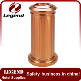 Elegance rose golden color ashtray garbage bin,trash bin