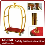 Factory directly supplied apple shape trolley for hoteler