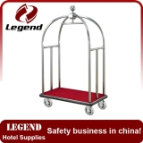 Good quality hotel lobby luggage cart