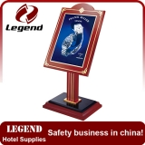 High quality advertising menu holder