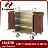 Hotel Laundry Trolley Service Cart For Sale