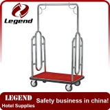 Hotel trolley manufacturer hotel luggage cart wheels