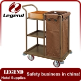 Professional manufacturer hotel used laundry cart